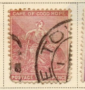 Cape of Good Hope 1882-83 Early Issue Fine Used 3d. 326709
