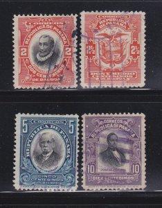 Panama 198-201 U Various