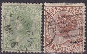 Victoria #141-2  F-VF Used CV $23.90 (A18507)