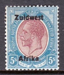 South West Africa - Scott #25b - MH - SCV $11