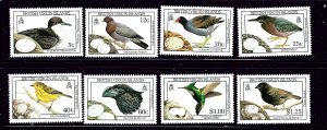 British Virgin Is 658-65 MNH 1990 Birds