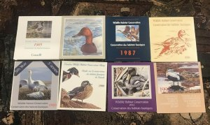 Canadian Duck Stamp Lot