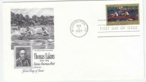 1967, Thomas Eakins, Artmaster, FDC (D14256)