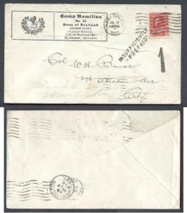 Canada #6486 - 2c Admiral-Illustrated Camp Hamilton No.