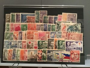 Philippines 1949-1960 mixed stamps  R26167