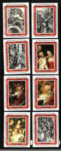 D3-St. Vincent-Scott#1966-73-Unused NH set-Durer-Paintings-C