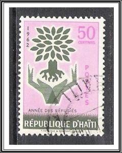 Haiti #490 World Refugee Year CTOH