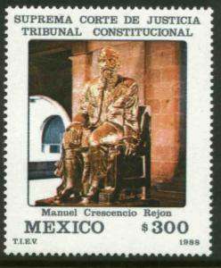 MEXICO 1532, Supreme Court Justice. MINT, NH. F-VF.