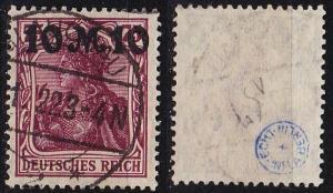 GERMANY REICH [1921] MiNr 0157 II ( O/used ) [01] geprüft
