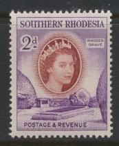 Southern Rhodesia  SG 80  Mint very light trace of Hinge