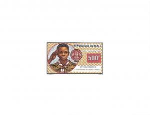 Mali, 1982 Boy Scouts, Scott #C462-C463 Proofs, very fine