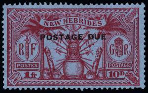 New Hebrides Scott J1-J5 Gibbons D1-D5 Mint Set of Stamps
