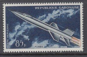 Gabon C10 Space MNH VF