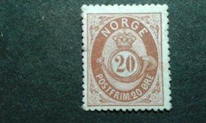 Norway #27 used e208 10820