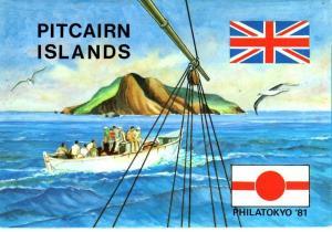 PITCAIRN ISLAND. 1981 POP Philatokyo 81....FREE LOCAL POSTAGE