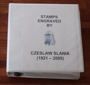Czeslaw Slania Postage Stamp Album - No Shipping Charge!!!