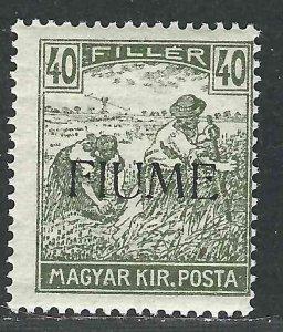 Fiume 12 SAS 13 MNH F/VF 1918 SCV $225.00