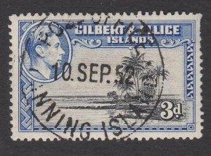 GILBERT & ELLICE IS 1952 GVI 3d FANNING ISLAND cds..........................N469