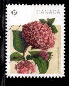 Canada - #2899 Hydrangias Booklet   - Used