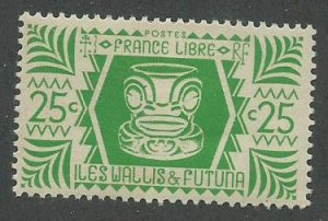 Wallis & Futuna Scott Catalog Number 129 Issued in 1944