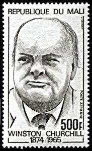 Mali C214, MNH, Centennial of Birth of Winston Churchill
