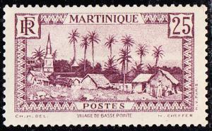 Martinique #141 MH