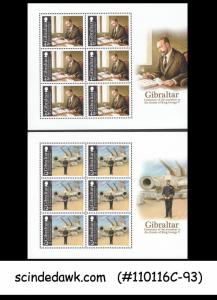 GIBRALATAR - 2010 CENTENARY OF THE ACCESSION TO THRONE OF KING GEORGE V - MIN/SH