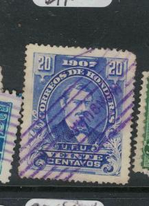 Honduras SC 124 VFU (1dwk)