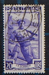 Italy, 1950, Italy Working, (2532-Т)
