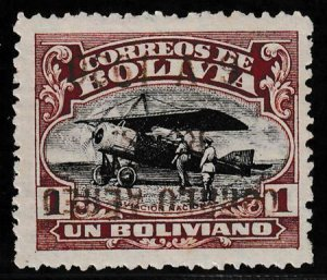 Bolivia 1930 SC C23a Mint Inverted Surcharge