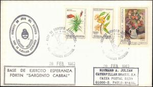 Argentina #94, Antarctic Cachet and/or Cancel