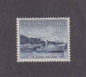 Christmas Island Scott #18  MH