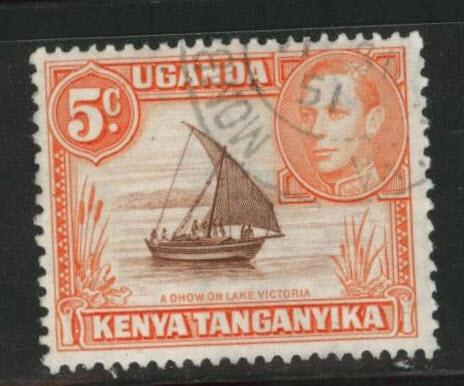 Kenya Uganda and Tanganyika KUT Scott 68 Used