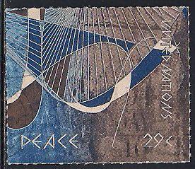 United Nations 632 Used - Peace Art