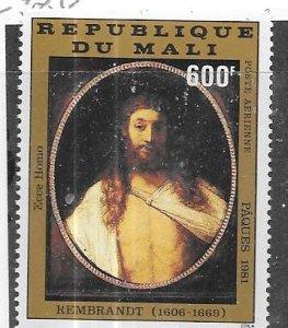 Republic of Mali   #C420  600fr  Easter 1981 (MNH) CV $2.50