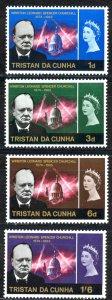 Tristan Da Cunha Sc# 89-92 MNH 1966 Winston Churchill