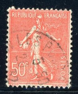 France #146 Sower 50c vermilion 1926 used