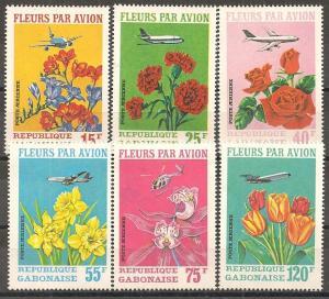 Gabon #C109-11 Mint Never Hinged VF CV $9.05 (ST507)