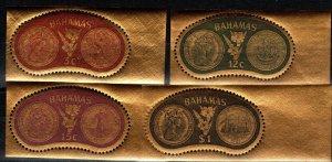 Bahamas #284-7  MNH  CV $5.30 (X6155)