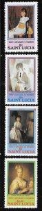 St Lucia 1981 Decade of Women Sc 573-576 MNH A1787