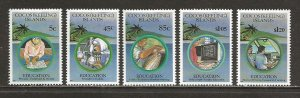 Cocos Islands Scott catalog # 278-282 Mint NH