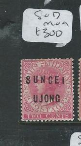 MALAYA SUNGEI UJONG (P0610B) 2C QV  SG 17  MOG