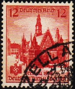 Germany. 1938 12pf S.G.655. Fine Used