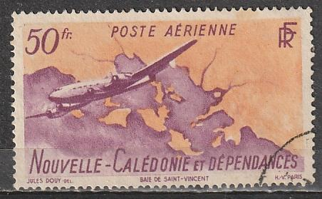 C21 New Caledonia Used Air Mail
