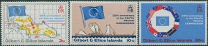Gilbert & Ellice Islands 1972 SG196-198 South Pacific Commission set MNH