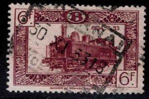 Belgium Parcel Post Scott Q316 Used Locomotive stamp