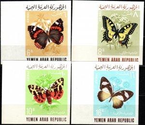 Yemen #C33A-C33D MNH Imperf CV $20.00 (X6286)