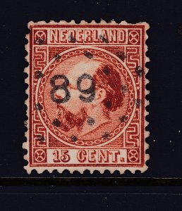 Netherlands an old perf 12.5 15c