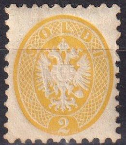 Austria  Lombardy-Venetia #20  F-VF Unused CV $640.00 (V4589)