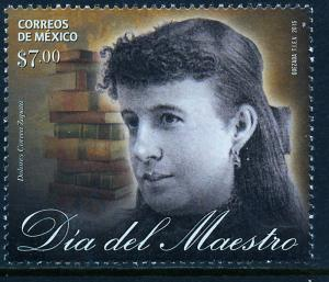 MEXICO 2935, TEACHERS DAY, 2015. MINT, NH. F-VF.